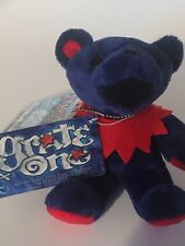 GRATE ONE Grateful Dead Dancing Bean/Beanie Bear Jerry/Plush/Stuffed Animal RARE
