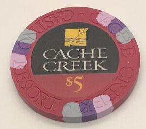 CACHE CREEK CASINO $5 CASINO CHIP House Mold