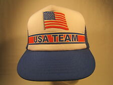 Vintage Men's Cap USA TEAM Size: Adjustable [Z164h]