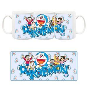 Doraemon Nobita Fujiko Fujio Tazza Ceramica Mug Cup Film Cartone Animato anni 80