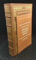 Stephen Vincent Benet Thirteen O'Clock Franklin Library Greatest Writers Leather