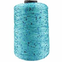1000g/ball 7000m Summer Ice Silk Mercerized Yarn Sequin Hand Woven Rag Knitting2