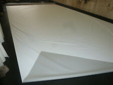 1,80€//m² Abdeckplane LKW Plane Airtexmagic 5m breit ca 330g//qm grau//weiß B-Ware
