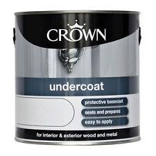 Crown 2.5L L sous-couche blanc intérieur & extérieur bois & métal peinture