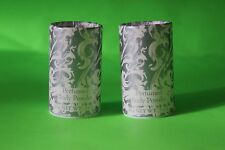 SET OF TWO Jessica McClintock .05 oz Perfumed Body Powder Shaker RARE