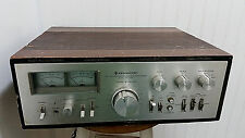 Vintage KENWOOD KA-9100 DC Stereo Integrated Amplifier w/ RARE Wood Box Case