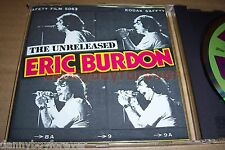 Eric Burdon CD The Unreleased Studio+Live Performances American Helix Mastering