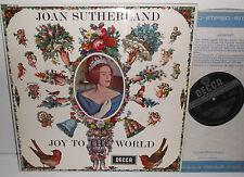 SXL 6193 Joan Sutherland Joy To The World Ambrosian Singers NPO Bonynge ED3 WB