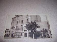 1910 HOTEL BEAUSEJOUR & RESTAURANT DONVILLE les BAINS ANTIQUE POSTCARD