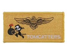 US ARMY TOMCATTER WILDCAT VF-31 FELIX LE CHAT AVIATEUR Naval Wing Patch écusson