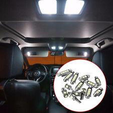 14x Universal Car Interior White LED Light Lamp Bulbs 39 41 42mm Kit Accessories
