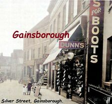 Silver Street, Gainsborough, Lincolnshire, a Postcard sized Image