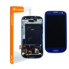 samsung galaxy s3 i9300 lcd digitizer blue with frame