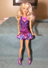 Barbie Fashionista 2012 Purple Streak Hair Color Articulated Original Outfit