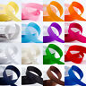 25Yards 1Roll Satin Ribbon Wedding Party Decoration Craft Sewing Many Colors S