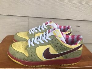 Nike Dunk Low Premium SB Lobster 313170-751 Men's Sneakers Multi-Color Size 10