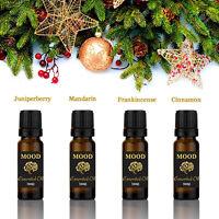 Essential Oils Set Festive Gift Set Juniperberry Mandarin Frankincense Cinnamon
