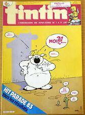 BD Comics Magazine Hebdo Journal Tintin No 40 40e 1985 Cubitus