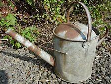 ANTIQUE VINTAGE 2 Gal (environ 7.57 L) galvanisé arrosoir adapté pour jardiniere