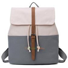 Women Canvas Bag Backpack School Bookbag Shoulder Satchel Rucksack Tote Handbag
