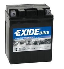 Batterie moto Exide YB14L-A2 AGM12-14 12V 12AH 200A 135X90X165MM