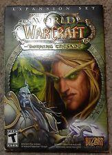 WOW World of Warcraft Expansion Set Burning Crusade Missing Disc 4!! PC