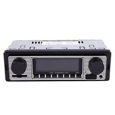Bluetooth Car Radio MP3 Player Stereo USB AUX Classic Car Stereo Audio J4Q9
