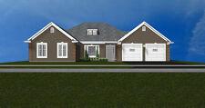 Beautiful 1-Story Bungalow House Plan2,280 Sf