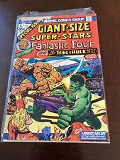GIANT-SIZE SUPER-STARS #1 1974 FANTASTIC FOUR! THING VS. HULK