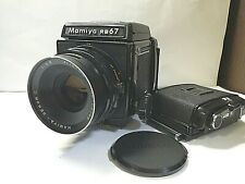 [ EXC+5 ] Mamiya RB67 Pro with Sekor C 127mm f/3.8 6x7 120 Film Back from JAPAN