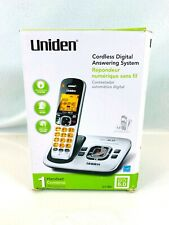 Uniden D1780 DECT 6.0 Expandable Cordless Phone w/ Digital Answering System USED