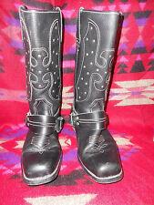 womens black western cowboy boot