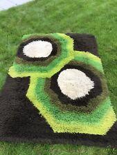 Teppich, Space Age,Vintage aus 70 er Jahre Nachlaß! Grün/Braun/ Beige!