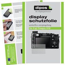 6x dipos Fujifilm Finepix X10 matte Displayschutzfolie Antireflex Testsieger