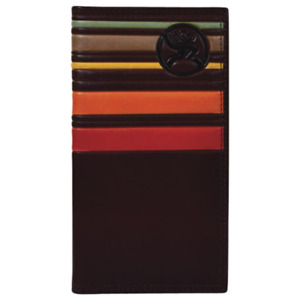 HOOEY BROWN SUNSET STRIPES RODEO - ACCESSORIES WALLET - 2001566W3