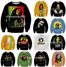 Reggae Singe3D Print Bob Marley WomenMen Casual Sweatshirt Pullover Hoodies Tops