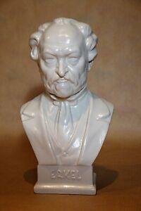 Herend Blanc de Chine Bust of Composer Ferenc Erkel