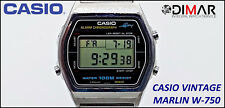 Vintage Casio Marlin W-750, QW.248, Japan, WR.100m. Year 1983