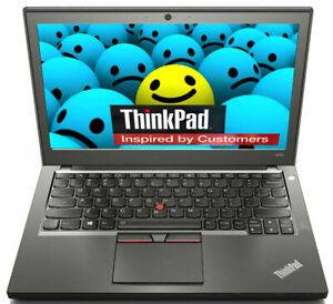 Lenovo ThinkPad X250 Laptop Intel i5-5300U 2,30GHz 8GB RAM 120GB SSD Win 10 Pro
