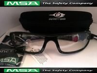 96 x Safety Glasses   Premium Instinct I-Wear Z4 Clear Eye Protection Anti-Fog