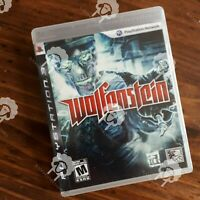 Wolfenstein ( PS3 Playstation 3 Sony ) TESTED