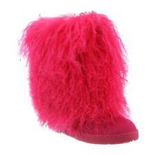 Bearpaw Boetis - Women's Furry Boots - 1294w Electric/pink - 9