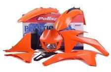 Kit De Plastico KTM EXC EXC-F 125/200/250/350/450 12-13 Enduro Luz Naranja plásticos