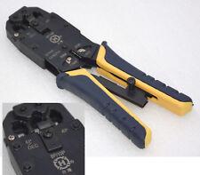 Crimping Crimp Tool RJ48 RJ-48 10P10C Also RJ10 RJ11 12 RJ-45 Modular Plug