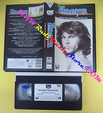 VHS THE DOORS Dance on fire JIM MORRISON greatest hits CIC (VM2) no mc dvd lp