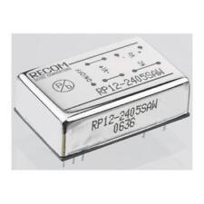 1 x Recom RP12-4815DAW, Vout ±15V dc Isolated DC-DC Converter, Vin 18-75V