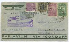 Brasilien Condor Zeppelin Brief Sao Paulo Münster 1932