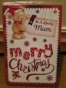 To A Lovely Mum Merry Christmas Card
