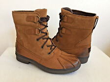 UGG AZARIA WATER RESISTANT CHESTNUT ANKLE BOOT US 7 / EU 38 / UK 5 New