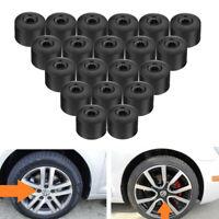 20x Car Wheel Nut Lug Bolt Covers Caps ABS For VW Passat Golf Polo Tiguan